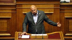 Ο Παναγιώταρος υμνεί στην Βουλή Ντερτιλή και υβρίζει Φλωράκη