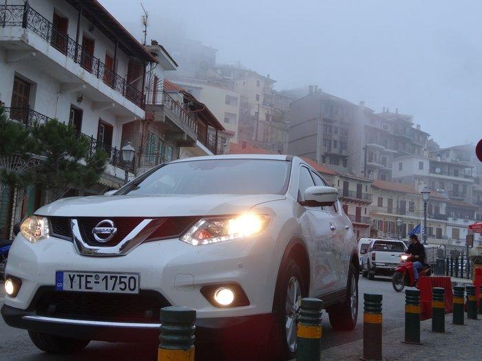 Πάμε για σκι στον Παρνασσό με το Nissan X-Trail - Part 2