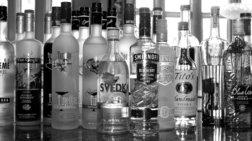 Η βότκα «νίκησε» το ουίσκι στην παγκόσμια αγορά αλκοολούχων ποτών