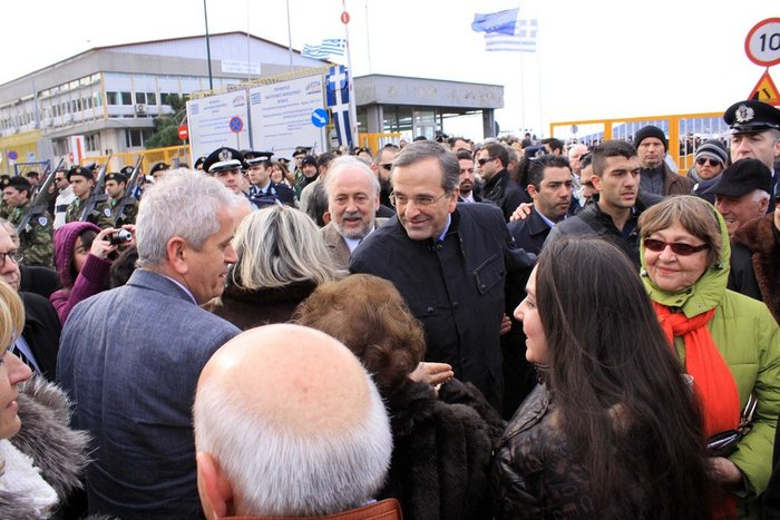 Αντώνης Σαμαράς: «Να μην ξανακυλήσει η χώρα μας»