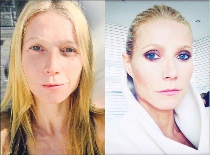 Η Γκουίνεθ Πάλτροου τολμά να εμφανιστεί χωρίς μακιγιάζ - εικόνα 2