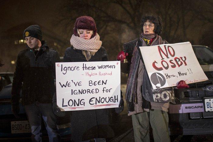 Διαμαρτυρίες εναντίον του Μπιλ Κόσμπι στον Καναδά
