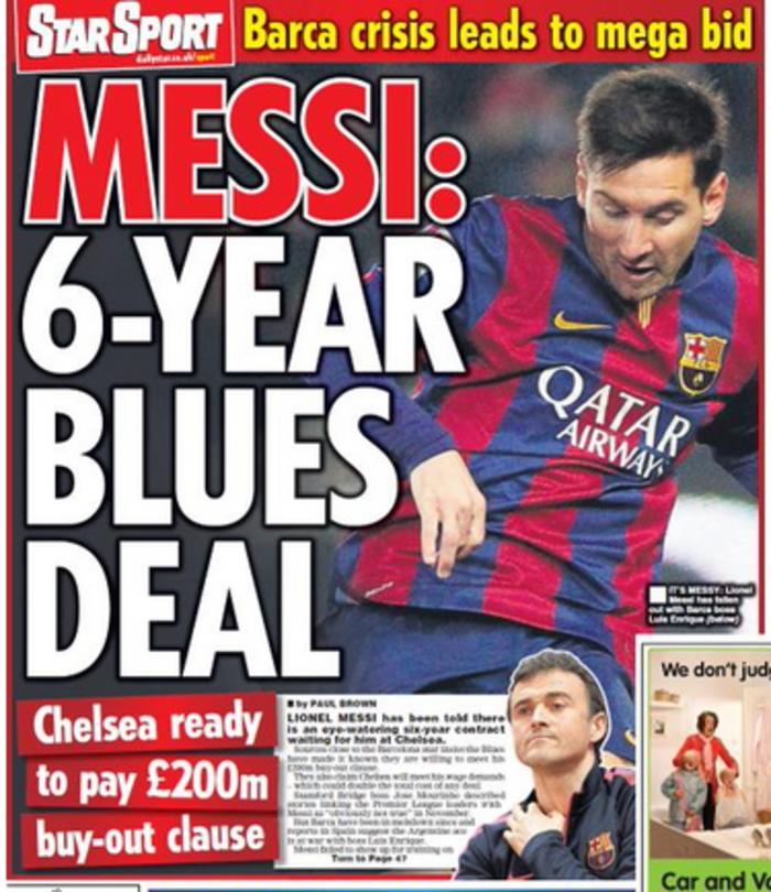 Ο Αμπράμοβιτς δίνει τα 200 εκατομμύρια για τον Μέσι!