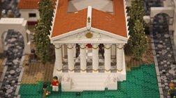 Μια Πομπηία απο lego  στο πανεπιστήμιο  του Μουσείου Νίκολσον του Σίδνεϊ