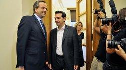 Μετωπική ΝΔ-ΣΥΡΙΖΑ για παροχές, φόρους και χρέη