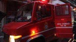 Φωτιά σε εγκαταλελειμμένο κτήριο στην Ιερά Οδό, δύο τραυματίες