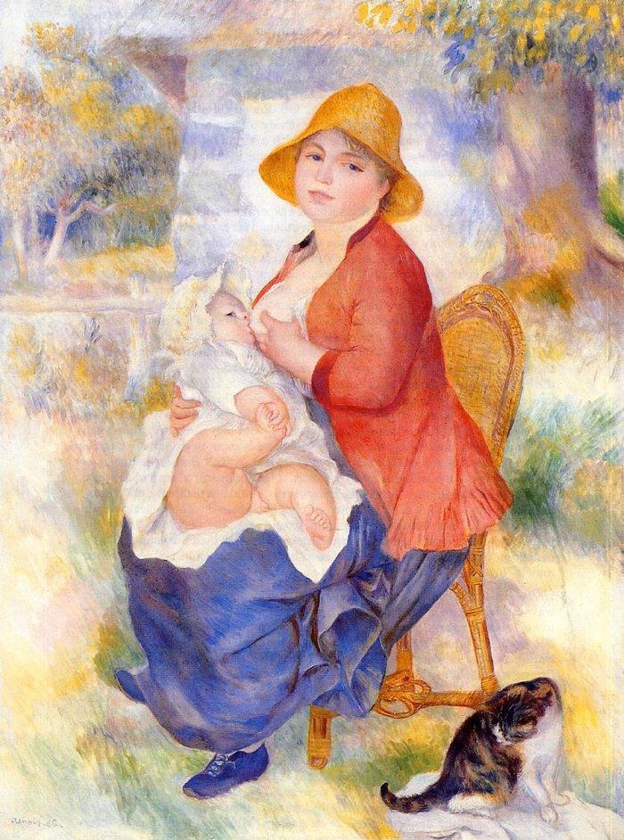 Ο πρωτότυπος πίνακας του Ρενουάρ