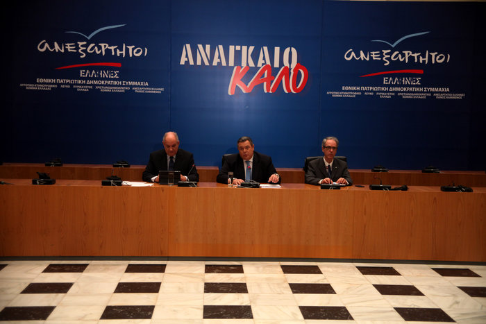 Καμμένος: Αυτοί είναι οι όροι συνεργασίας με ΣΥΡΙΖA