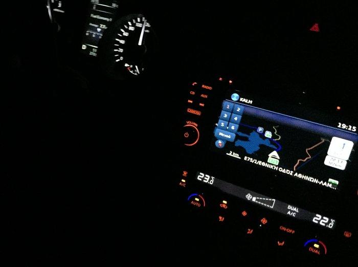 Υπέροχη η βραδυνή αίσθηση μέσα στο Nissan X-Trail