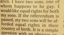 Η μάνα που ζητάει ίσα δικαιώματα για τους δυο γιους της