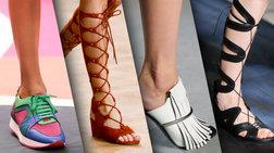 Οι κυρίαρχες τάσεις στα παπούτσια για το καλοκαίρι του 2015