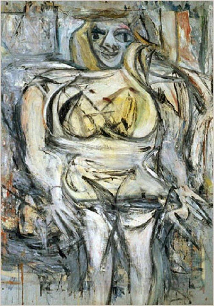 W. de Kooning, Woman III (σημερινή τιμή 162,4 εκ. δολάρια)