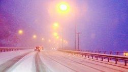 Χιονιάς: Προβλήματα σε Αττική- Πελοπόννησο