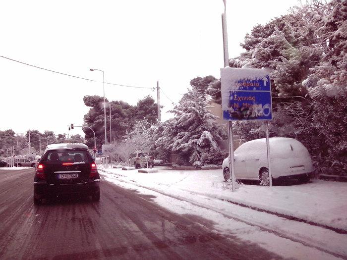 Στα λευκά η Αττική-Χιονιάς σε όλη την Ελλάδα - εικόνα 3