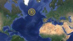 Αλλεπάλληλοι μεγάλοι σεισμοί στη μέση του Ατλαντικού