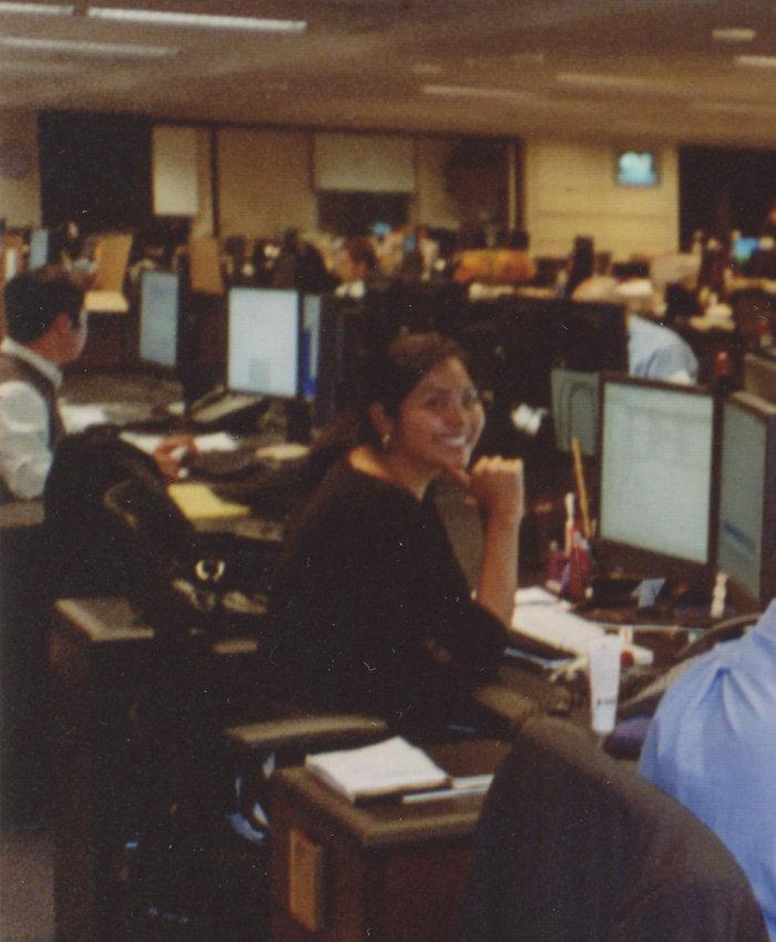 Μέσα στο γραφείο της στην Goldman Sachs