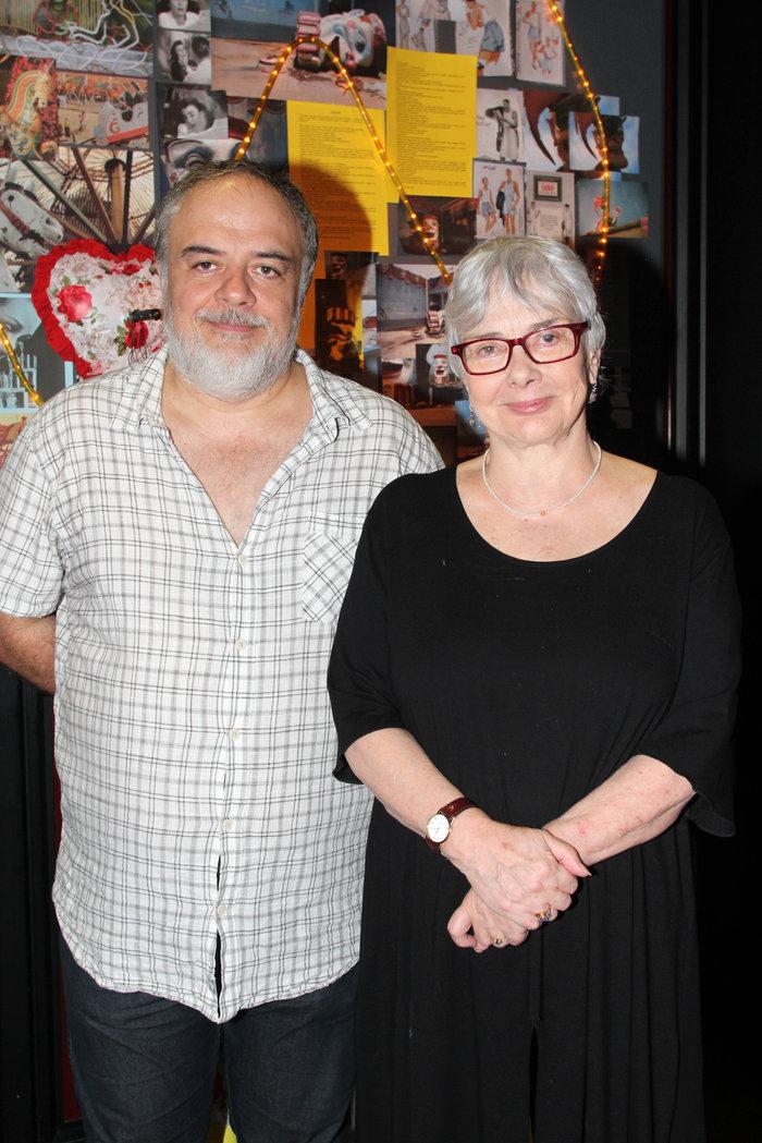 Η Ξένια Καλογεροπούλου με τον Θωμά Μοσχόπουλο