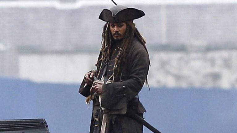 Ο Τζόνι Ντεπ... έστησε τους Πειρατές της Καραϊβικής