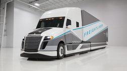 Δεν είναι τραίνο, δεν είναι τραμ, είναι το μελλοντικό φορτηγό Mercedes