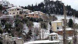 Βροχές, χαλάζι και χιονόπτωση σε 'Αρτα και Ιωάννινα