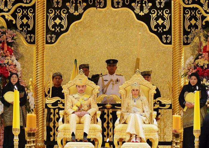 Σουλτάνος του Μπρουνέι: Ο γάμος της απόλυτης χλιδής