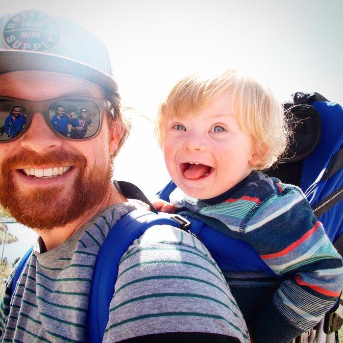 «Ο 17 μηνών γιος μου έχει σύνδρομο Down και του αρέσει να πετάει!»