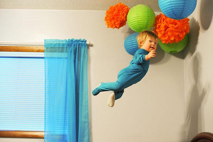 «Ο 17 μηνών γιος μου έχει σύνδρομο Down και του αρέσει να πετάει!» - εικόνα 7