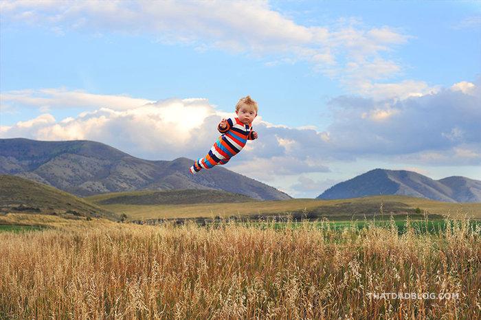«Ο 17 μηνών γιος μου έχει σύνδρομο Down και του αρέσει να πετάει!» - εικόνα 8