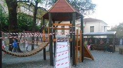 Ιωάννινα: Πινγκ πονγκ με τις ευθύνες για την επικίνδυνη παιδική χαρά