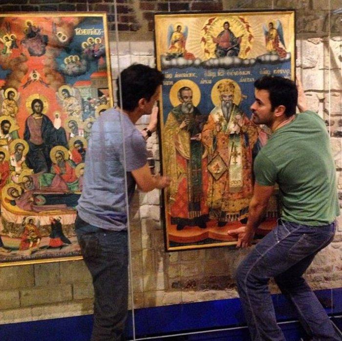 Ο Νίκος Παπαδάκης «δημιουργεί» εκκλησιαστικό μουσείο στο Κάιρο - εικόνα 6