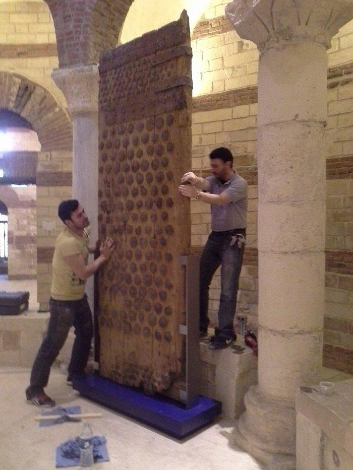 Ο Νίκος Παπαδάκης «δημιουργεί» εκκλησιαστικό μουσείο στο Κάιρο - εικόνα 7