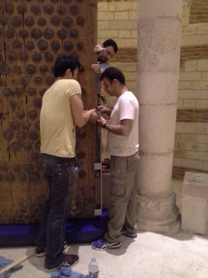 Ο Νίκος Παπαδάκης «δημιουργεί» εκκλησιαστικό μουσείο στο Κάιρο - εικόνα 5