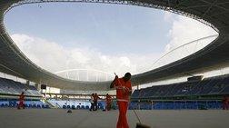 Διακόπτονται οι εργασίες σε Ολυμπιακά Έργα του Ρίο Ντε Τζανέιρο