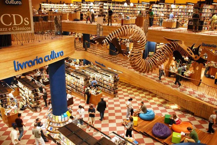 Livraria cultura, Σαο Πάολο