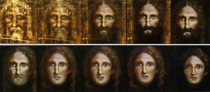 Η Ιταλική αστυνομία αποκαλύπτει το παιδικό πρόσωπο του Χριστού[photos]