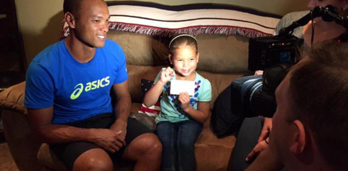 Ολυμπιονίκης βγάζει το δόντι της κόρης του με ακόντιο! - εικόνα 2