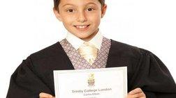 11χρονο παιδί-θαύμα με Πτυχίο Πανεπιστημίου!