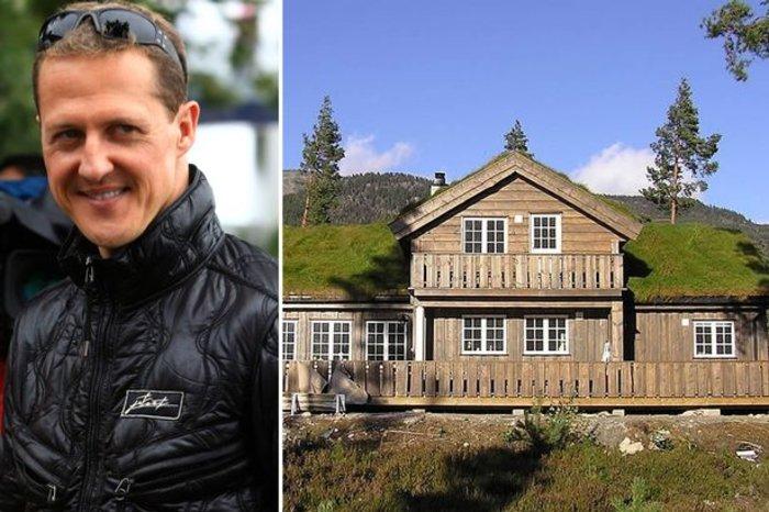 Το σπίτι του Σουμάχερ στη Νορβηγία