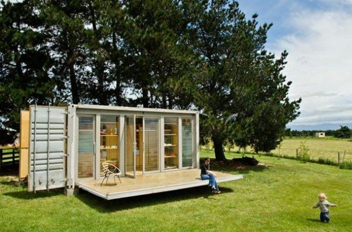 Τα 15 ομορφότερα σπίτια φτιαγμένα από κοντέινερ αξίας 2.000 ευρώ! - εικόνα 43