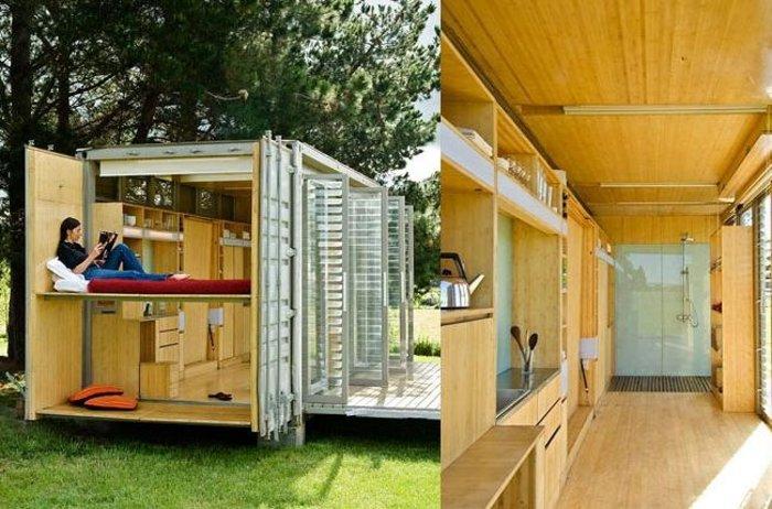 Τα 15 ομορφότερα σπίτια φτιαγμένα από κοντέινερ αξίας 2.000 ευρώ! - εικόνα 45