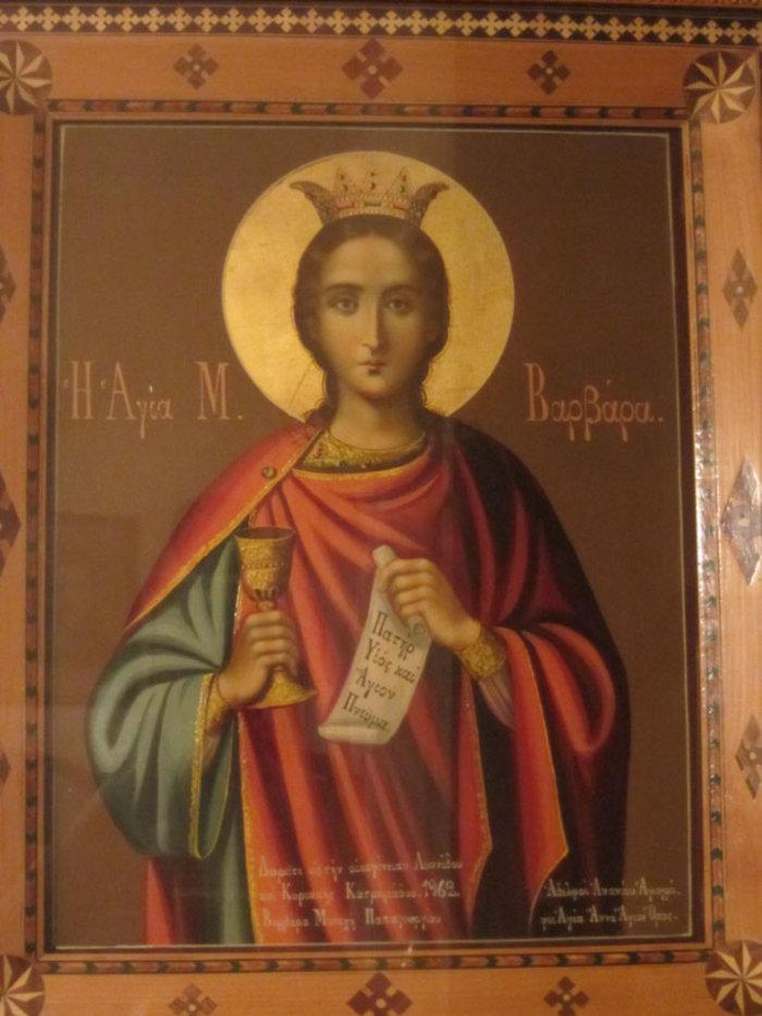 Γιατί είναι «θαυματουργή» η Αγία Βαρβάρα; - εικόνα 2