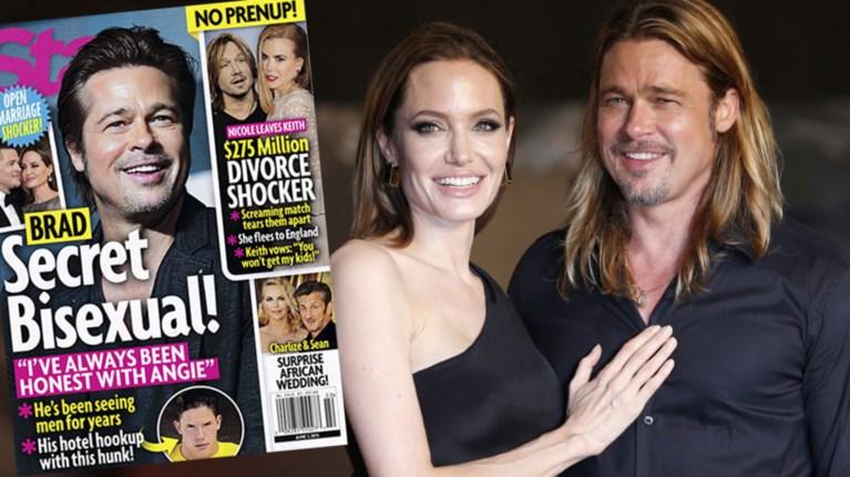 Το απίστευτο δημοσίευμα αμερικανικού περιοδικού για τον Brad Pitt !