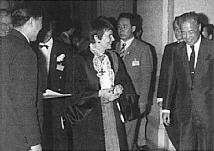 Πρύτανης με τον Ζάο Ζιγιάγκ