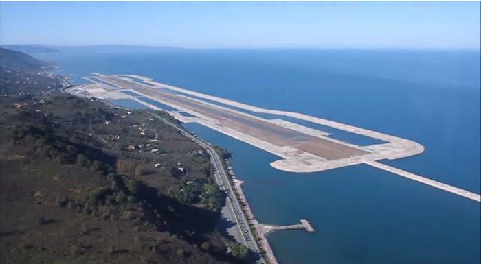 Το πρώτο αεροδρόμιο κατασκευασμένο πάνω σε τεχνητό νησί στην Ευρώπη