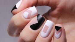 Negative Space μανικιούρ: Η νέα τάση στα νύχια που κλέβει τις εντυπώσεις