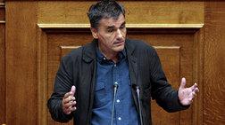 Τσακαλώτος στον Guardian: Σε ανώτατο πολιτικό επίπεδο οι αποφάσεις