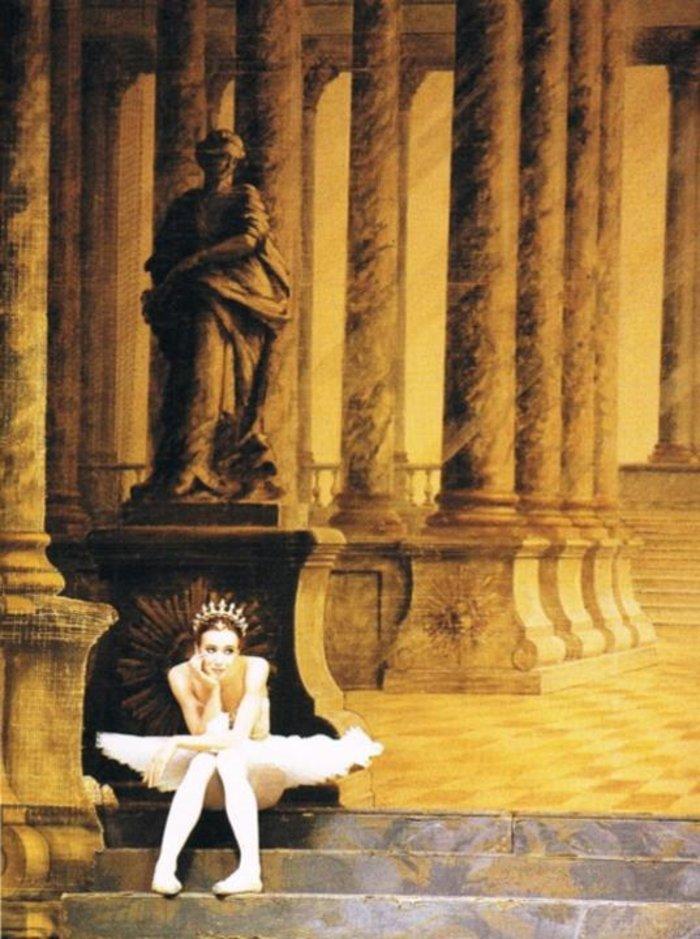 Βασιλικό Μπαλέτο Λονδίνου. Σε διάλειμμα από τις πρόβες Ωραία Κοιμωμένη (1994)