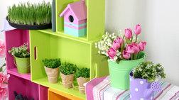 DIY Project: 13 δημιουργικοί τρόποι να διακοσμήσετε τα φυτά σας