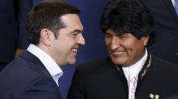 «Ρεύμα» Τσίπρα με τους ηγέτες της Λατινικής Αμερικής