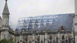 Ολική καταστροφή: Καίγεται ο ιστορικός καθεδρικός της Νάντης [Βίντεο]